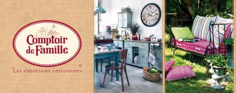 comptoir de famille vente priv e table et d co. Black Bedroom Furniture Sets. Home Design Ideas
